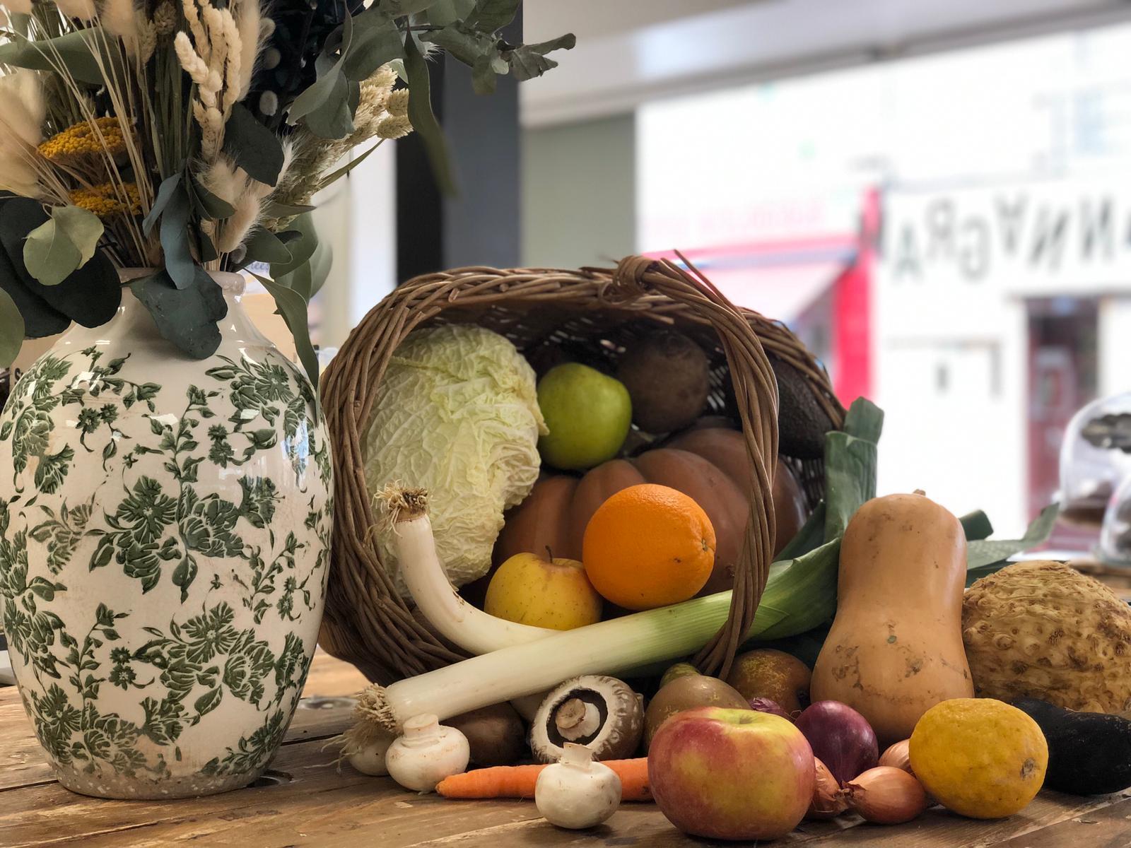 Fruits et légumes bio chez Annagram épicerie vrac, magasin bio situé au Mans